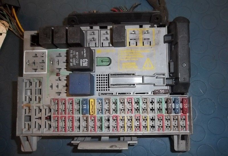 Astra g fuse box example electrical wiring diagram